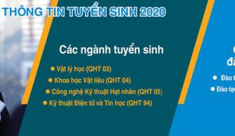 THÔNG TIN TUYỂN SINH 2020