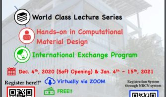 Hội thảo Internal Virtual Course on Basic and Applied Nanotechnology from Computational to Experiment Methods
