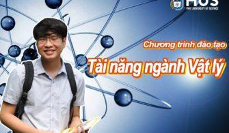 Tuyển sinh chương trình đào tạo tài năng ngành Vật lý